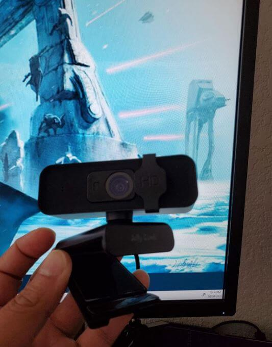 Design of the Jelly Comb webcam 1080p