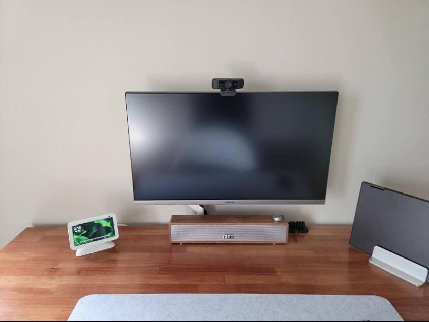 This image review Nexigo webcam 1080p installation