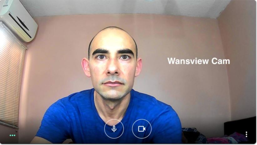 This image review Wansview webcam