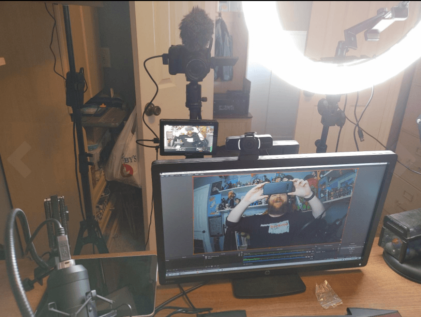 Amcrest webcam setup with the computer