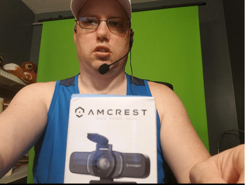 The amcrest webcam was tested by customer