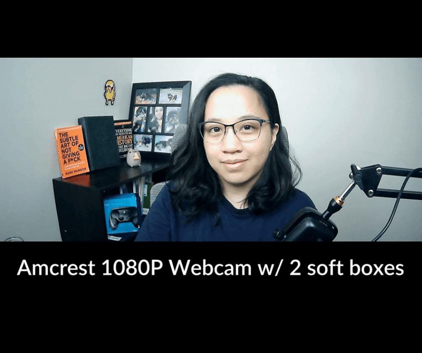 amcrest webcam setup