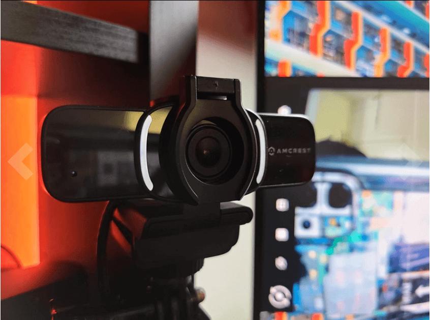 design of the amcrest webcam