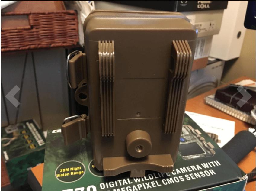 Design of the Campark T70 trail camera