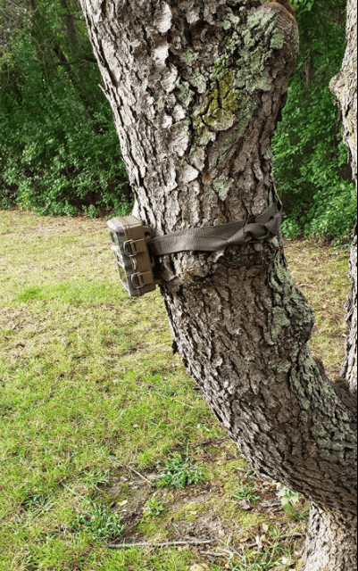 Campark T70 trail camera setup