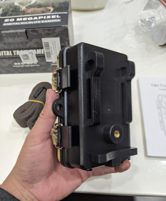 Unboxing the campark t80 trail camera