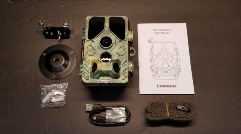 Design of the Campark t85 trail camera