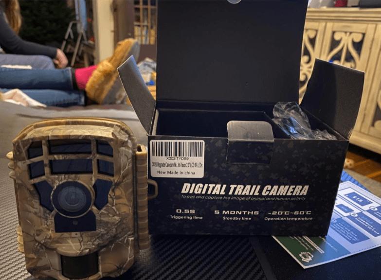 Design of the Campark T20-1 trail camera