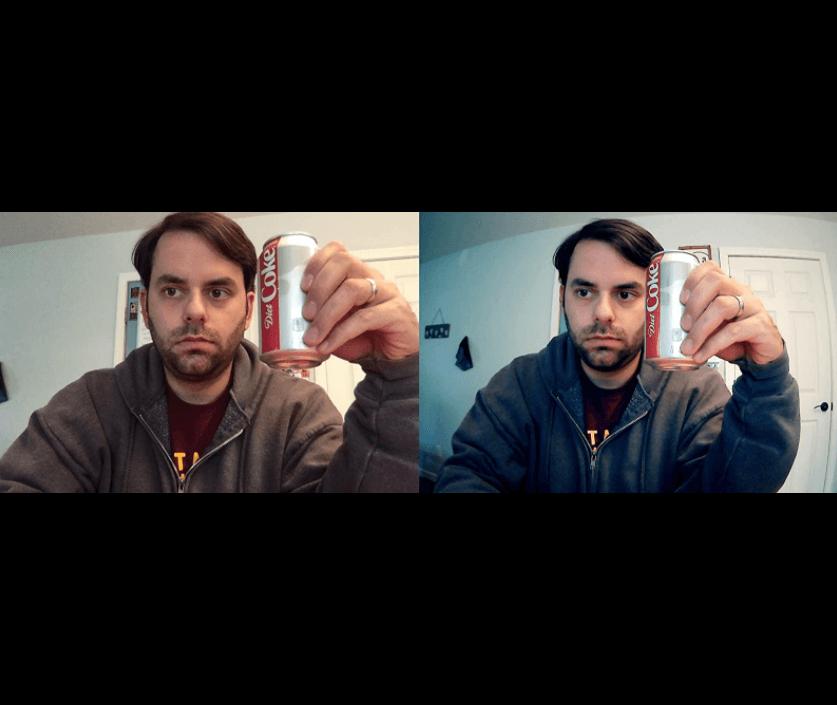 I compared dericam webcam to a Logitech C920
