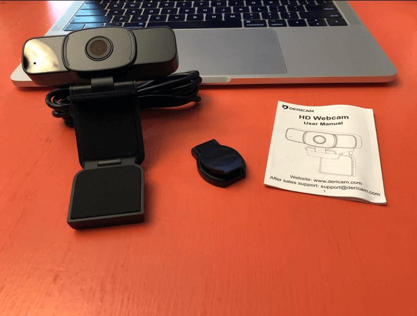design of the dericam webcam