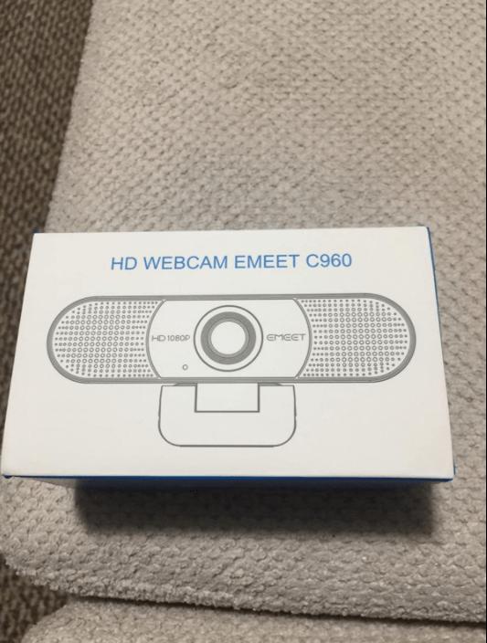 Unboxing the emeet c960 webcam