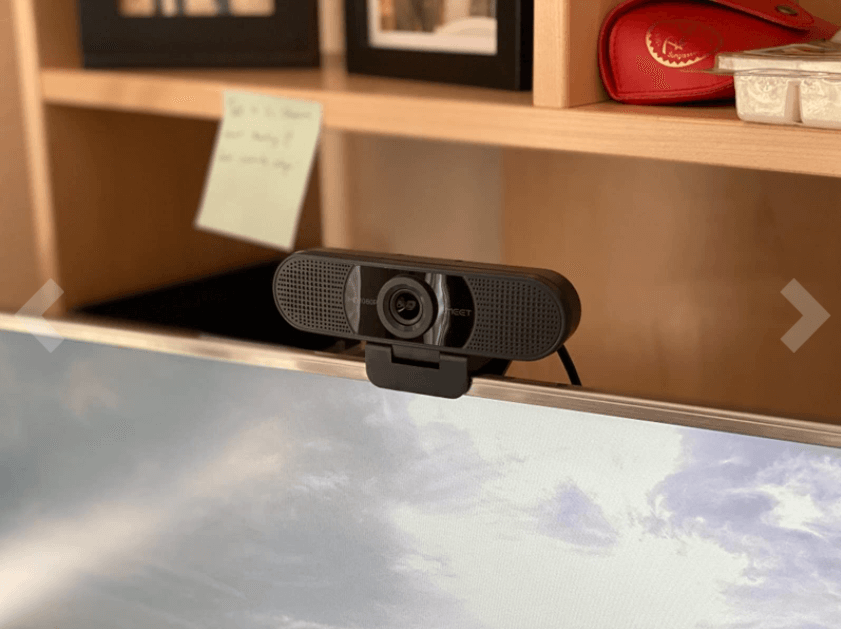 emeet c960 webcam setup with the computer