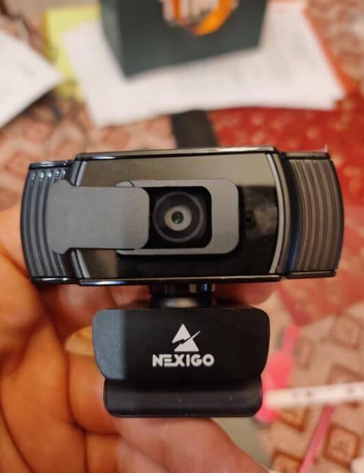 unboxing the nexigo webcam