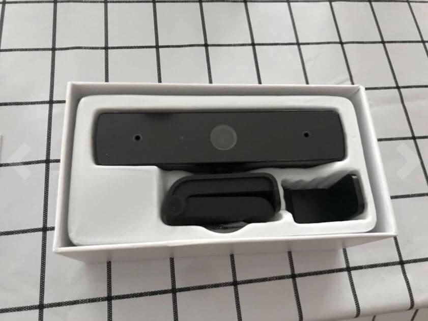 Unboxing the qtniue webcam