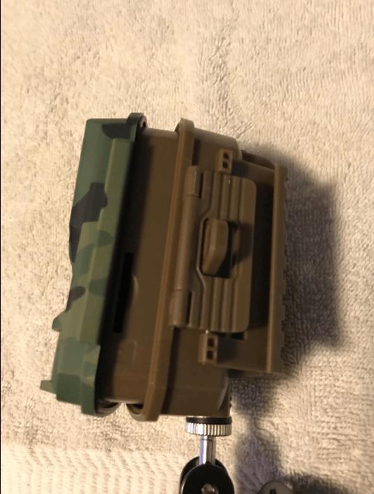 Design of the Toguard H20 trail camera