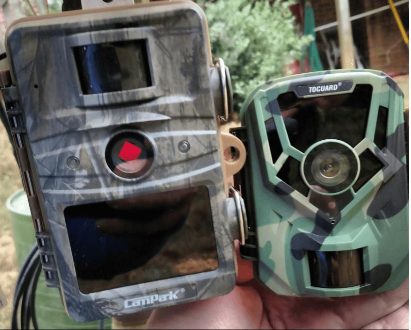 Campark T70 and Toguard H20 Mini