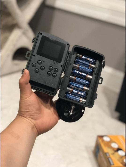 togurad h40 setup with battery