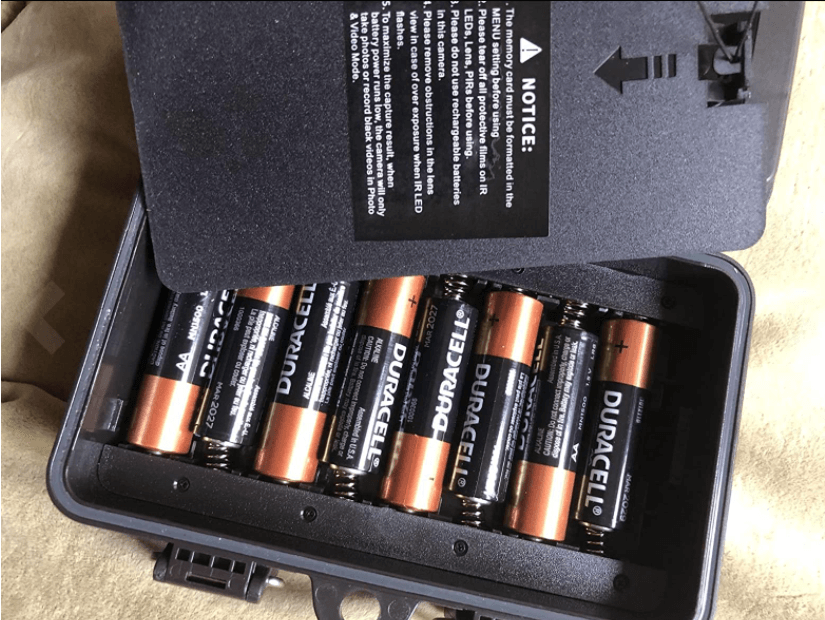 Lithium batteries powering our toguard h85
