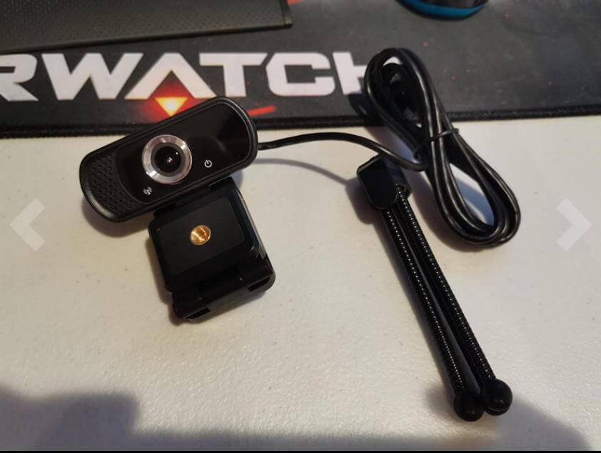 tolulu webcam setup with tripod