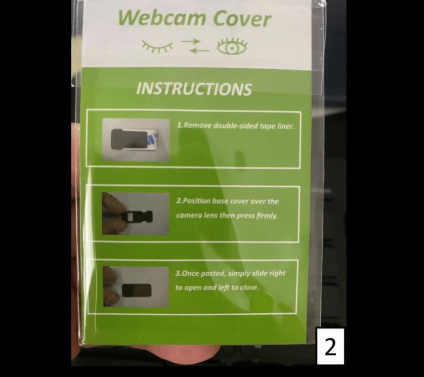 nexigo webcam with privacy cover