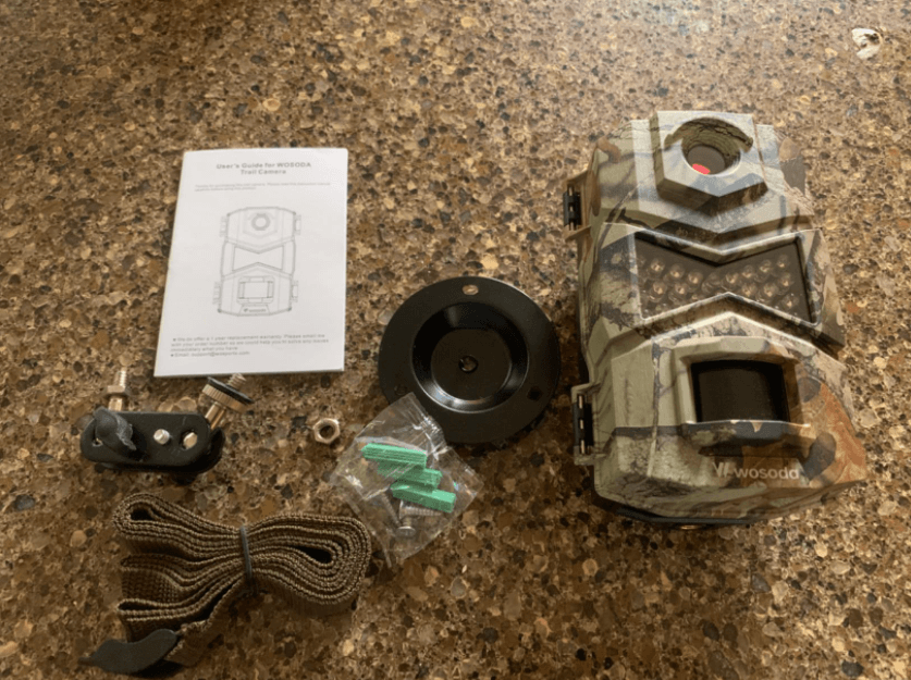 design of the wosoda trail camera