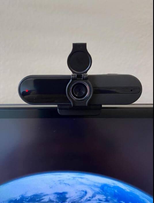 xpcam webcam setup with the computer