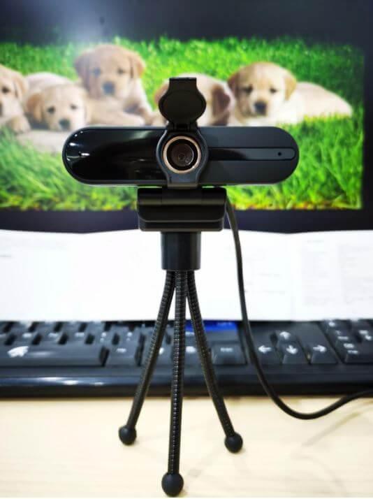 xpcam webcam setup with tripod