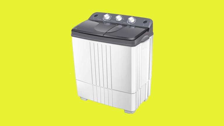 costway twin tub washing machine review