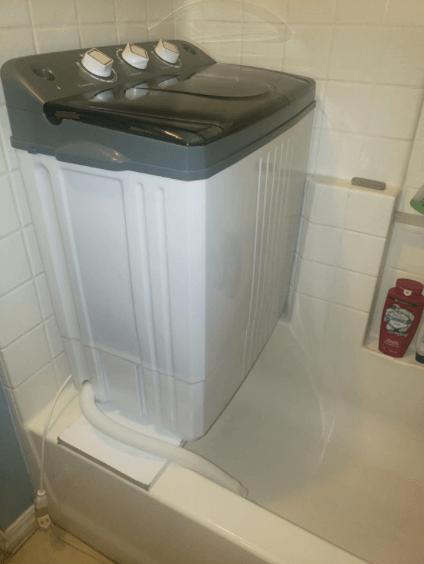 Costway Portable Washing Machine setup