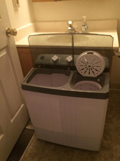 design of the cost way portable washing machine