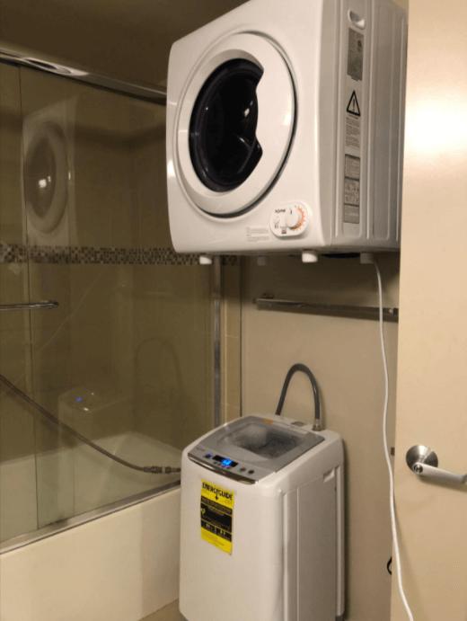 homelabs portable washing machine setup