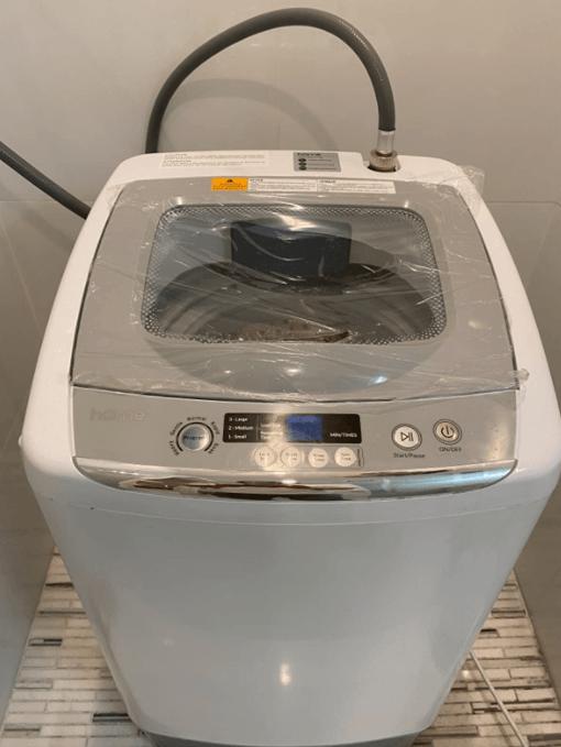 design of the homelabs portable washing machine