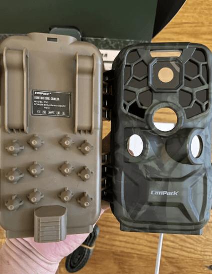 Design of the campark t90 trail camera