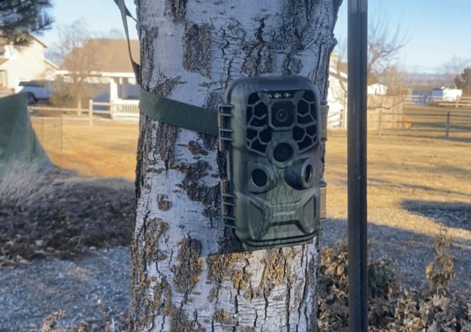campark t90 trail camera setup