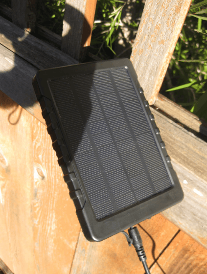 Campark solar panel