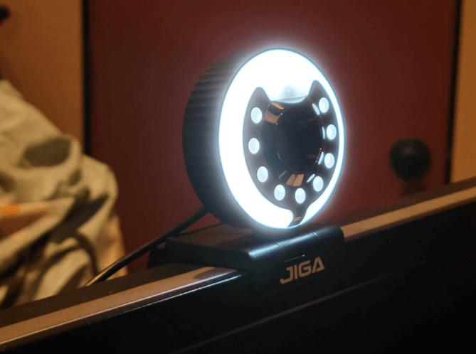jiga webcam test