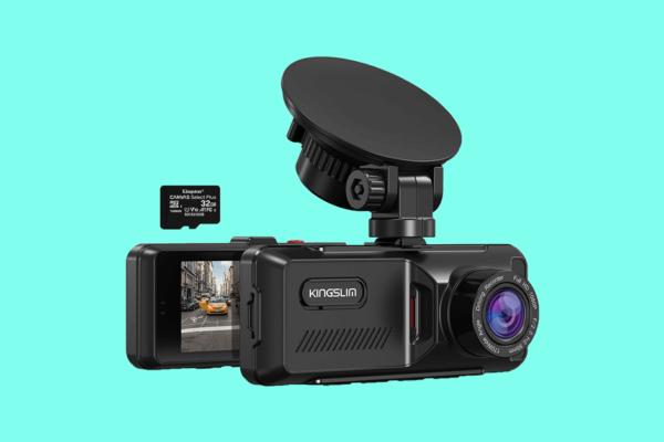 Kingslim D1 Pro Dual Dash Cam Review