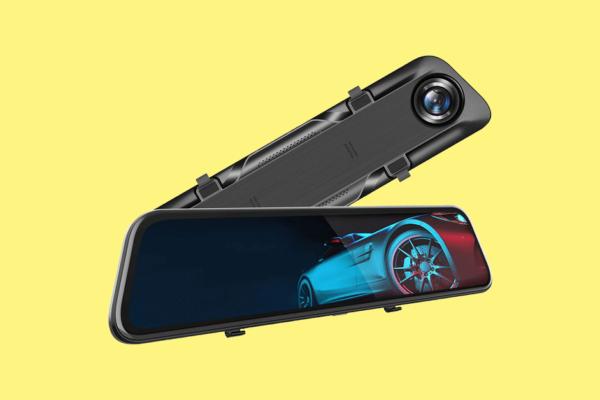 "Vantop H612T 12"" 4K Mirror Dash Cam Review"
